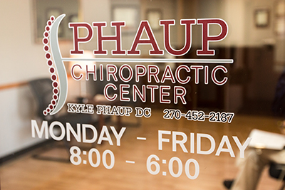 Phaup Chiropractic Center Front Door