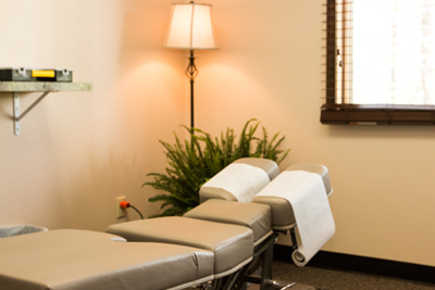 Phaup Chiropractic Room